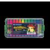 Buncho 12 Colors Fluorescent Crayon