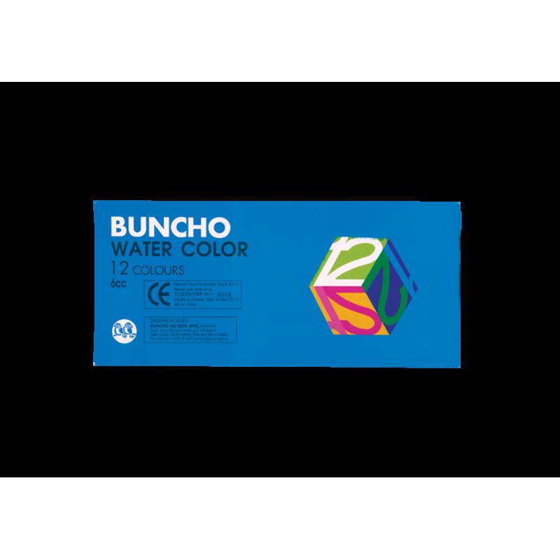 Buncho Water Colors 6cc 12 colors