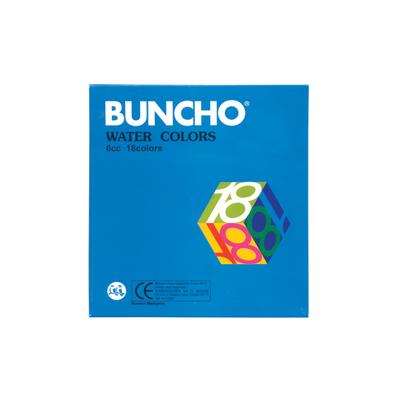 Buncho Water Colors 6cc 18 colors